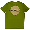 Eindje Eindje Lets's Go South Crewneck T-shirt | Moss Green