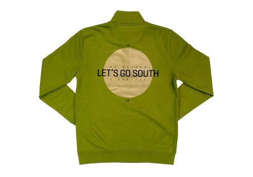 Eindje Eindje Lets's Go South Mannensweater met rits