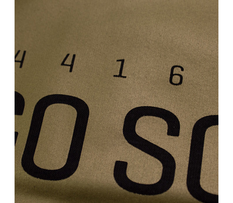 Eindje Lets's Go South Mannensweater met rits