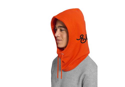 Eindje Eindje Hooder Oranje | Zwart