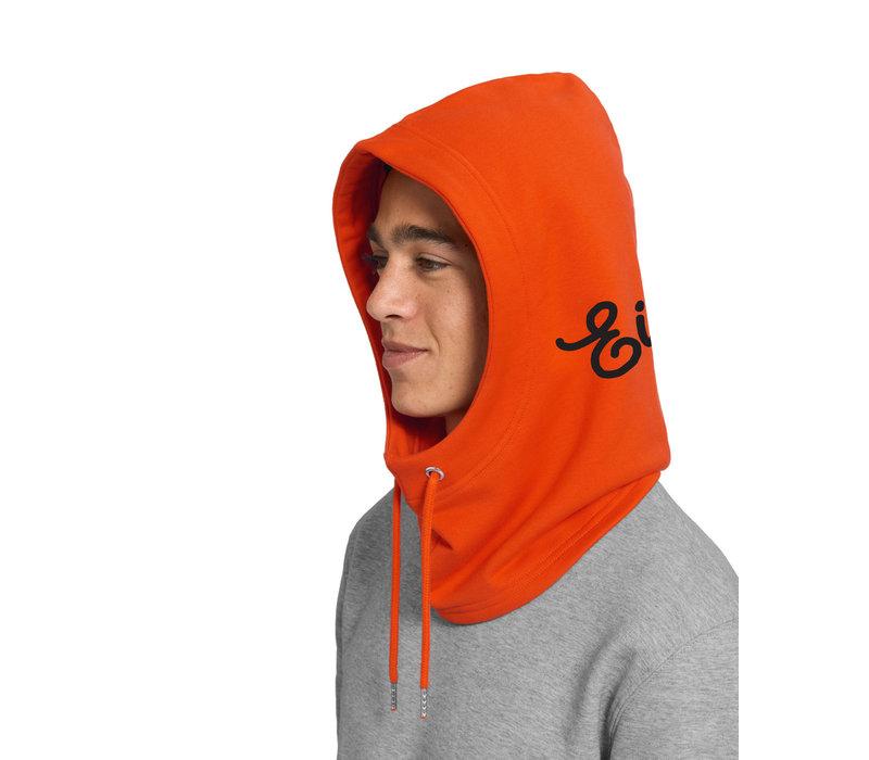 Eindje Hooder Oranje | Zwart