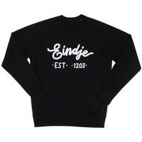 Eindje Logo Crew Neck Sweater | Zwart