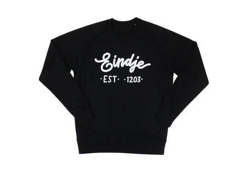 Eindje Eindje Logo Crew Neck Sweater | Black
