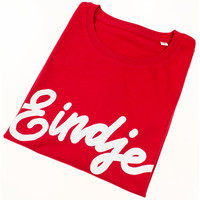 Eindje T-shirt Tekst Red