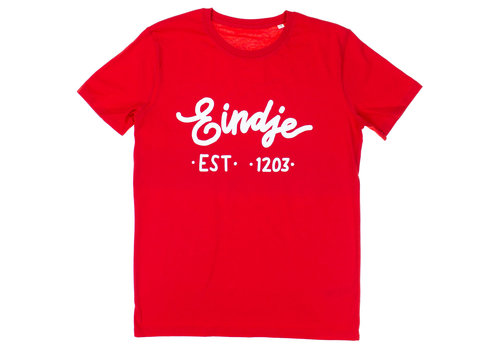 Eindje Eindje T-shirt Tekst Rood