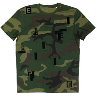 Eindje Camouflage All Over Print T-shirt
