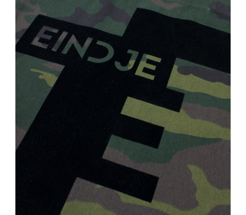 Eindje Camouflage All Over Print Tote