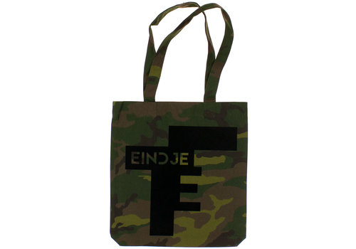 Eindje Eindje Camouflage All Over Print Tote