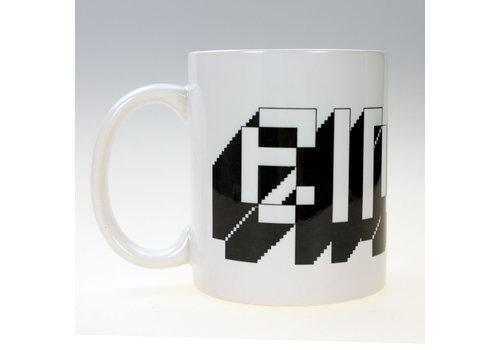 Eindje Eindje Pixel Logo  Beker