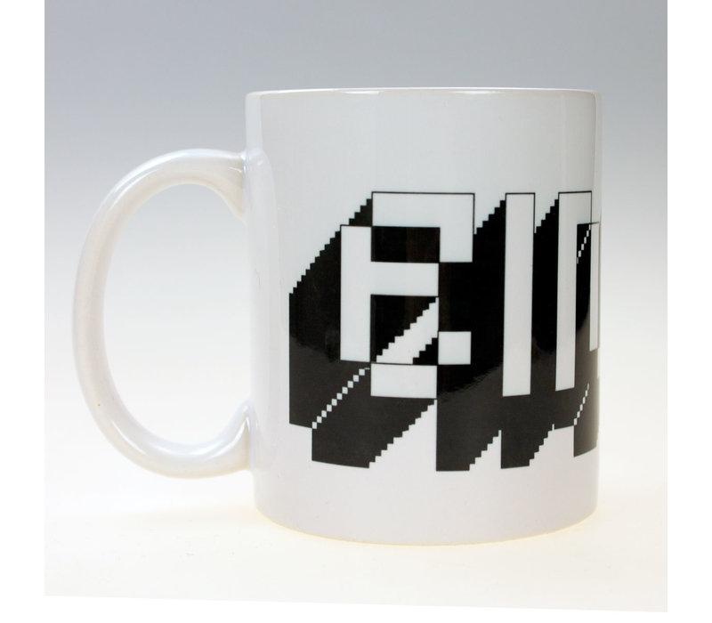 Eindje Pixel Logo  Beker
