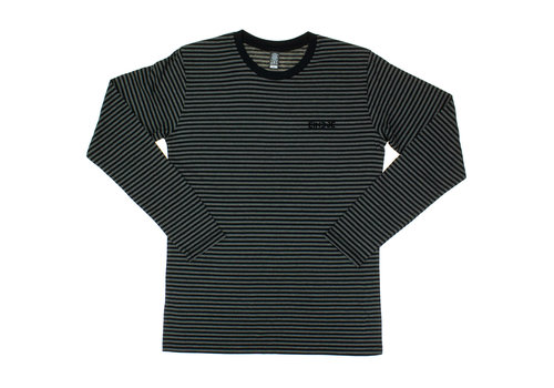 Eindje Eindje Stripes Grey  / Black Longsleeve T-shirt