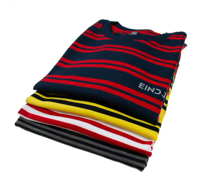 Eindje Stripes Grijs / Zwart Longsleeve T-shirt