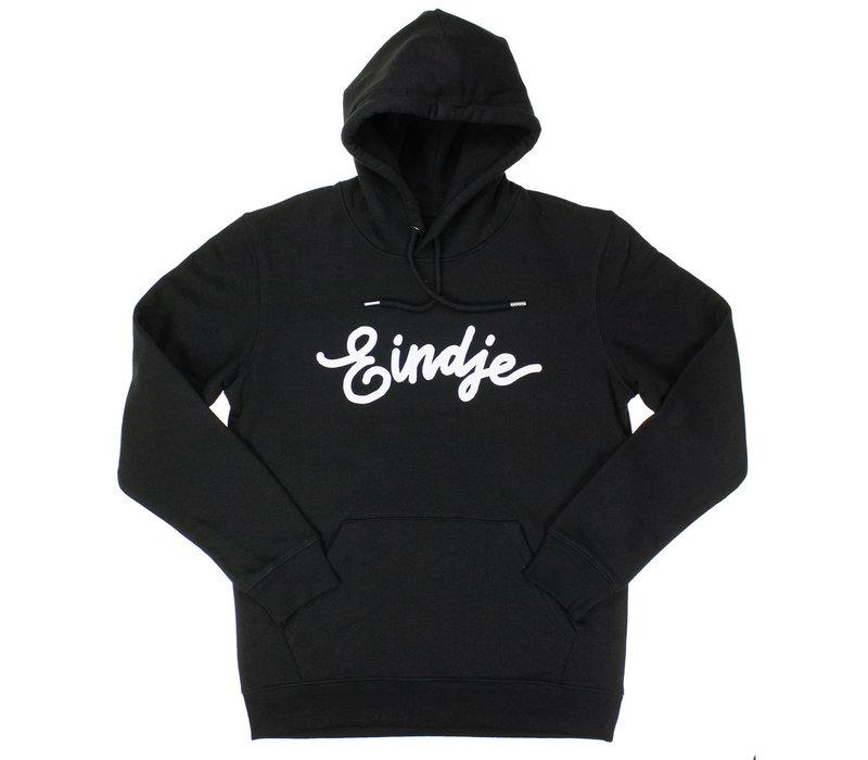 Eindje Hoodie Zwart | White