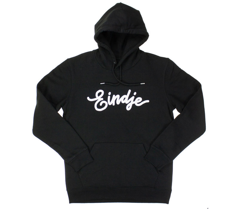 Eindje Hoodie Zwart | Wit