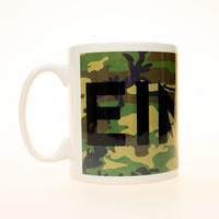 Eindje Logo Camouflage Beker