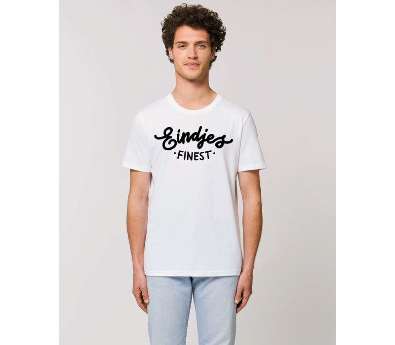Eindjes Finest Wit T-shirt