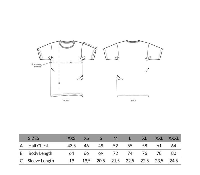 Eindje T-shirt Glazed Green | Geel