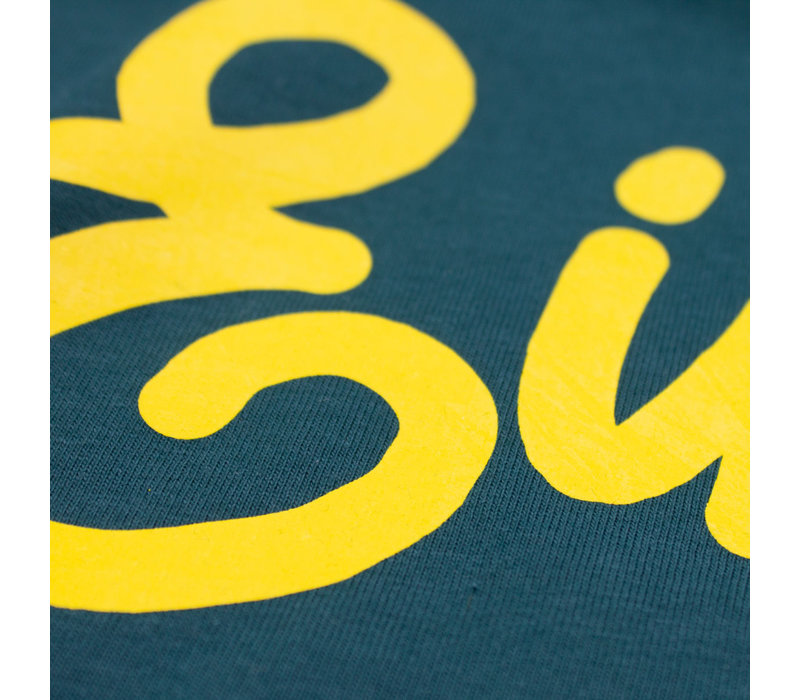Eindje T-shirt Glazed Green | Yellow