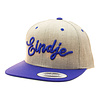 Eindje Eindje Snapback 3D Royal Blue logo / Cap Heather Grey Royal Blue