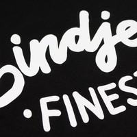 Eindje Finest Dames T-shirt | Zwart