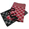 Eindje Eindje Tea Towel Set Black / Red