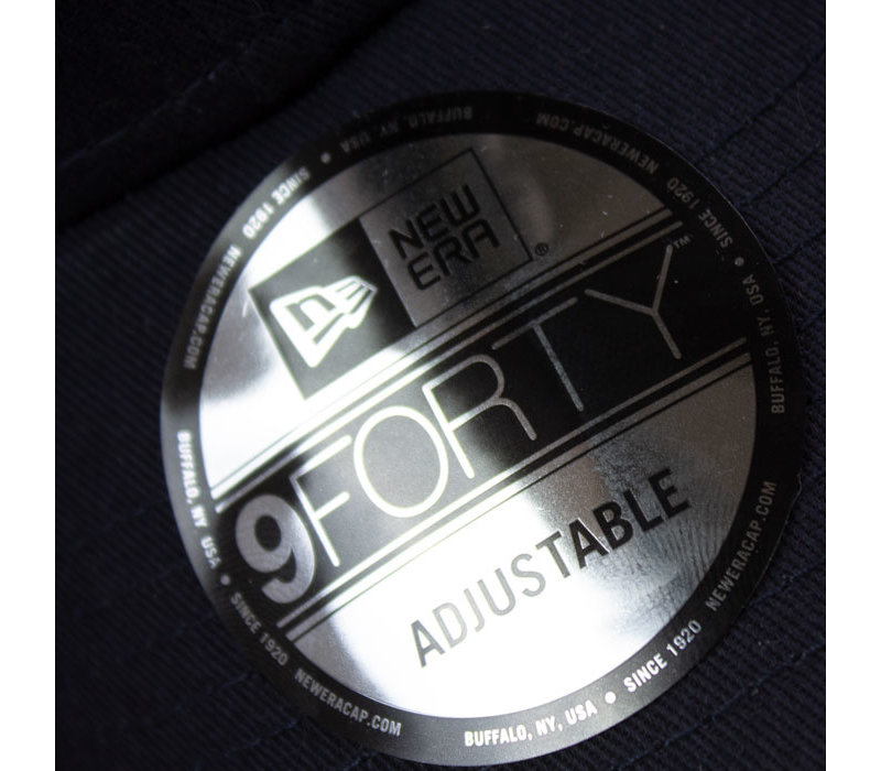 Eindje New Era 9FORTY® Cap | Donker Grijs