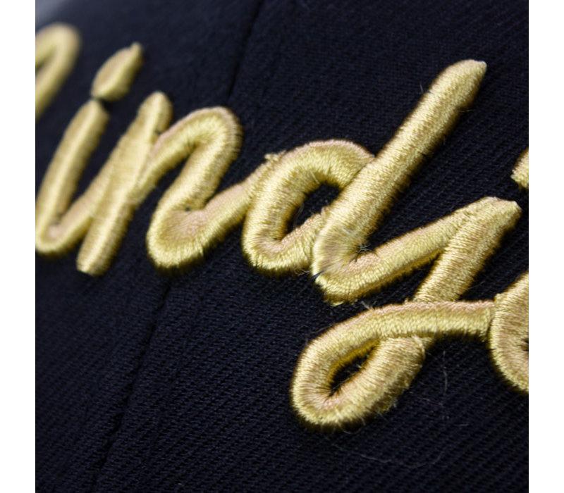 Eindje Snapback 3D Cap Black - Gold Logo