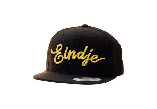Eindje Eindje Snapback 3D Cap Black - Gold Logo
