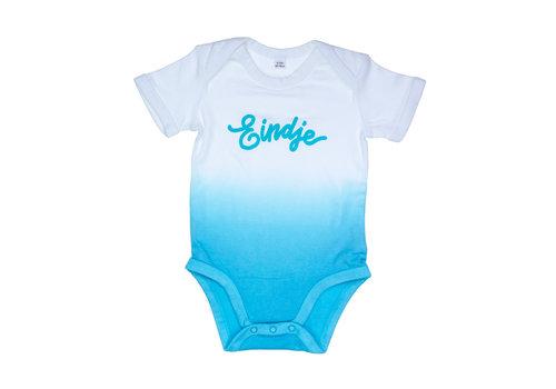 eindje Eindje Dip Dye Baby Bodysuit | Surf Blue