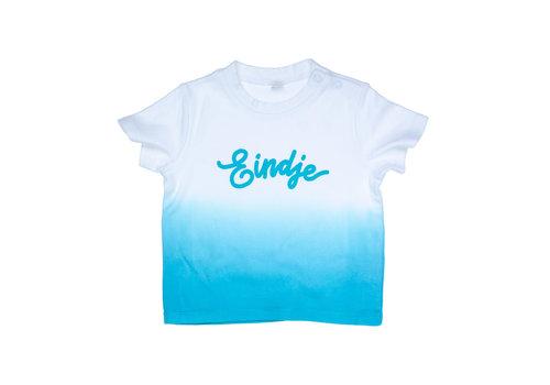 eindje Eindje Dip Dye Baby T-shirt | Surf Blue