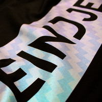 Eindje T-shirt Shimmer Pearl    Black