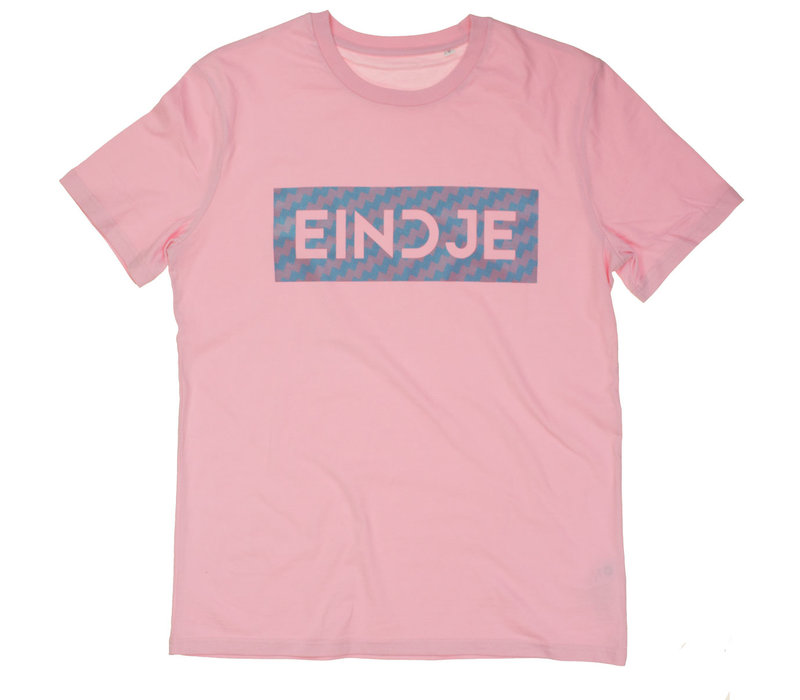 Eindje T-shirt Shimmer Pearl  | Candy Cotton Pink