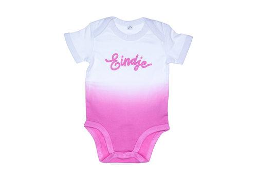 eindje Eindje Dip Dye Baby Rompertje | Bubblegum Pink