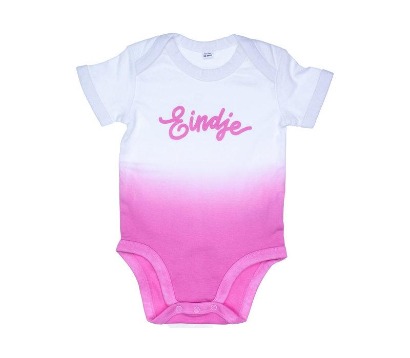 Eindje Dip Dye Baby Rompertje | Bubblegum Pink