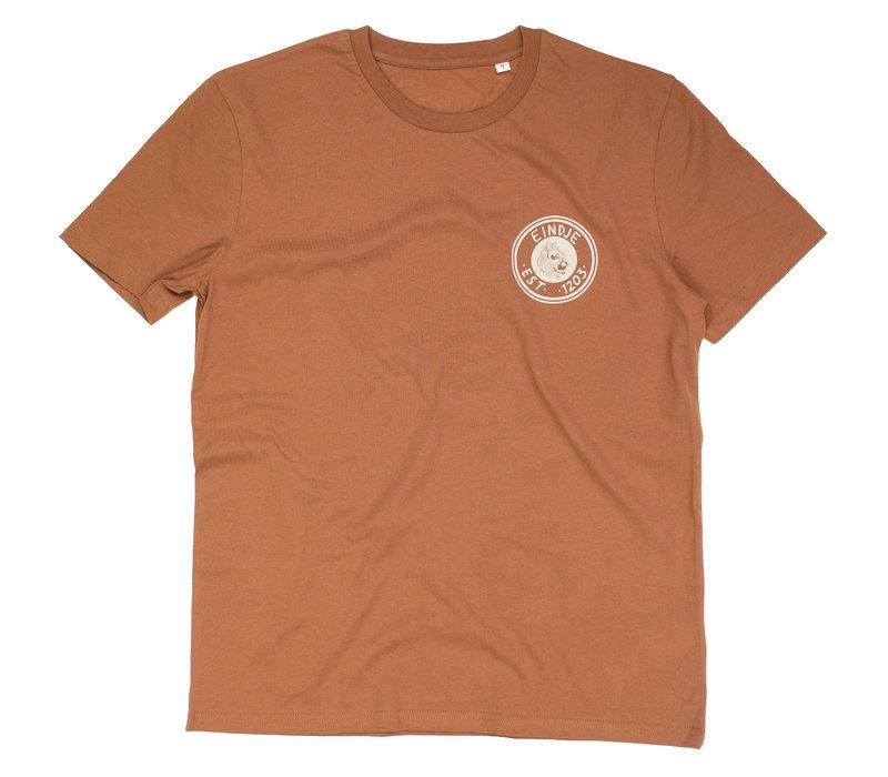 Eindjes Gearhead T-shirt  - Caramel