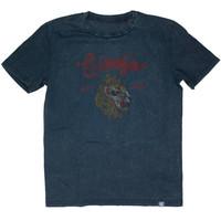 Eindje T-shirt Vintage Lion | Aged India Ink Grey