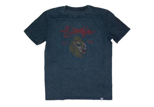 Eindje Eindje T-shirt Vintage Leeuw | Aged India Ink Grey