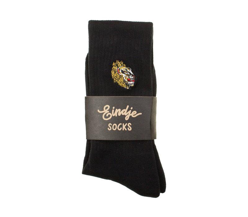 Eindje Leeuw Socks - Embroidery