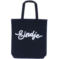 Eindje Two-tone cotton tote bag