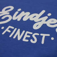 Eindje Finest Kinder T-shirt | Bright Blue