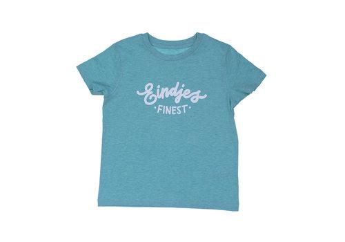 Eindje Eindje Finest Kinder T-shirt | Mid Heather Groen
