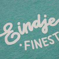 Eindje Finest Kids T-shirt | Mid Heather Green