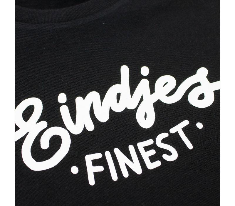 Eindje Finest Kinder T-shirt | Zwart