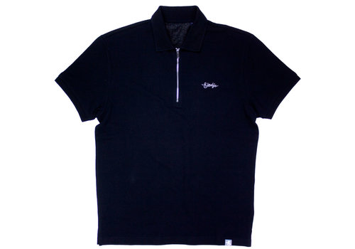 eindje Eindje Zip Polo | Black