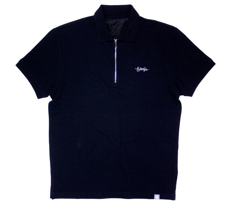 Eindje Zip Polo | Black