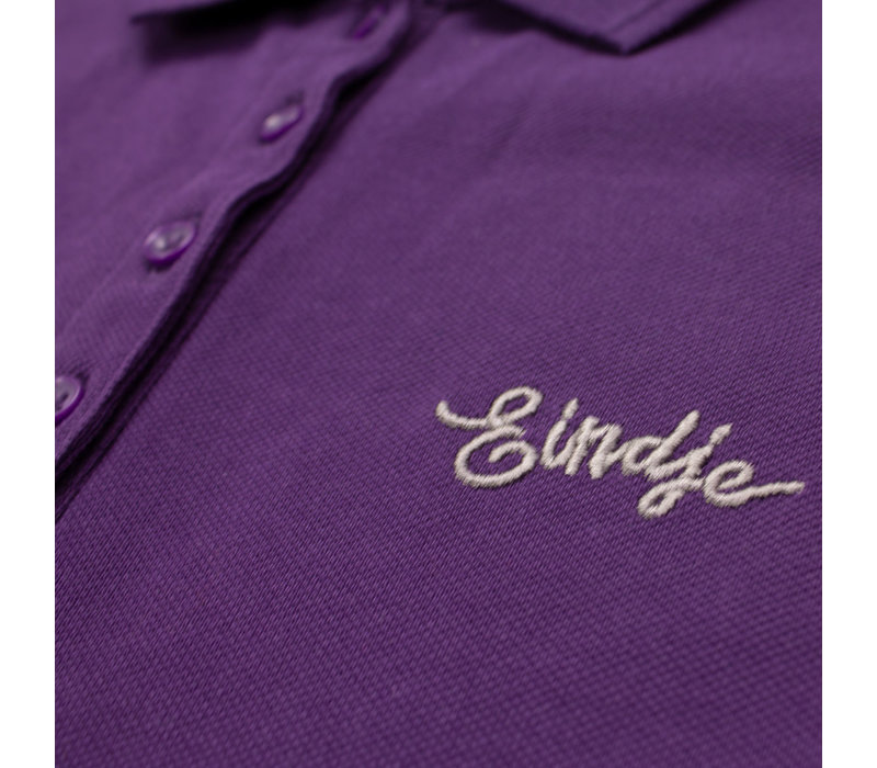 Eindje Dames Polo | Paars