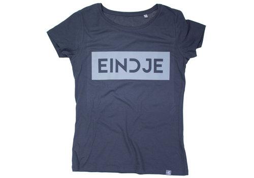 Eindje Eindje Reflective Women T-shirt |  Charcoal