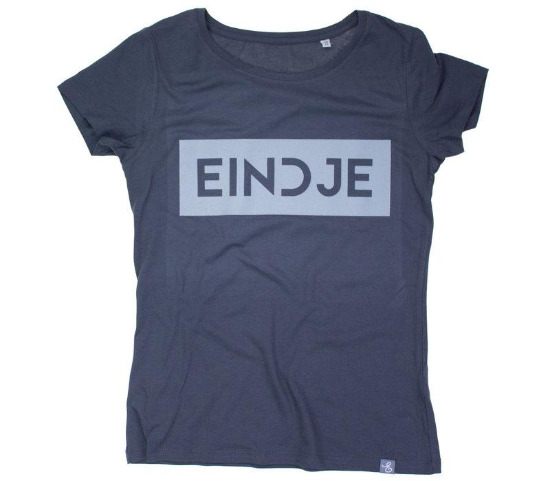 Eindje Reflective Women T-shirt |  Charcoal