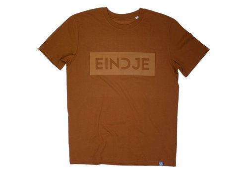 Eindje Eindje T-shirt Suede  | Roasted Orange