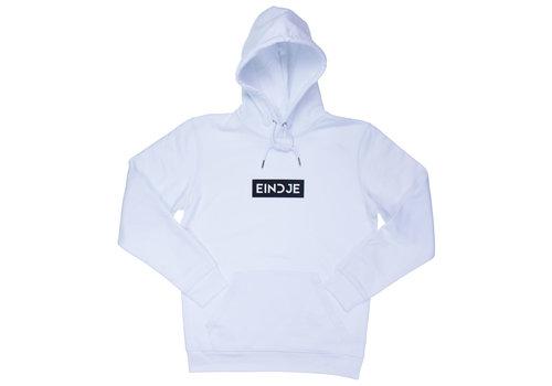 Eindje Eindje HD Blok Logo Hoodie | White